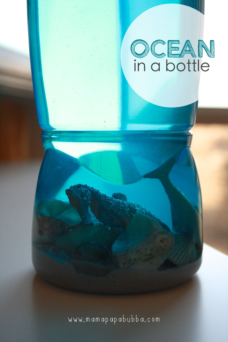 Ocean in a Bottle | Mama Papa Bubba