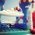 iPhoneography // Fahaheel Bouncy Castle