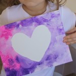 Simple Heart Resist Art