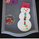 Snowman Counting and Number Recognition Game