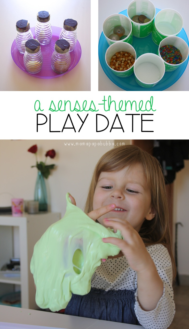 A Senses Themed Play Date