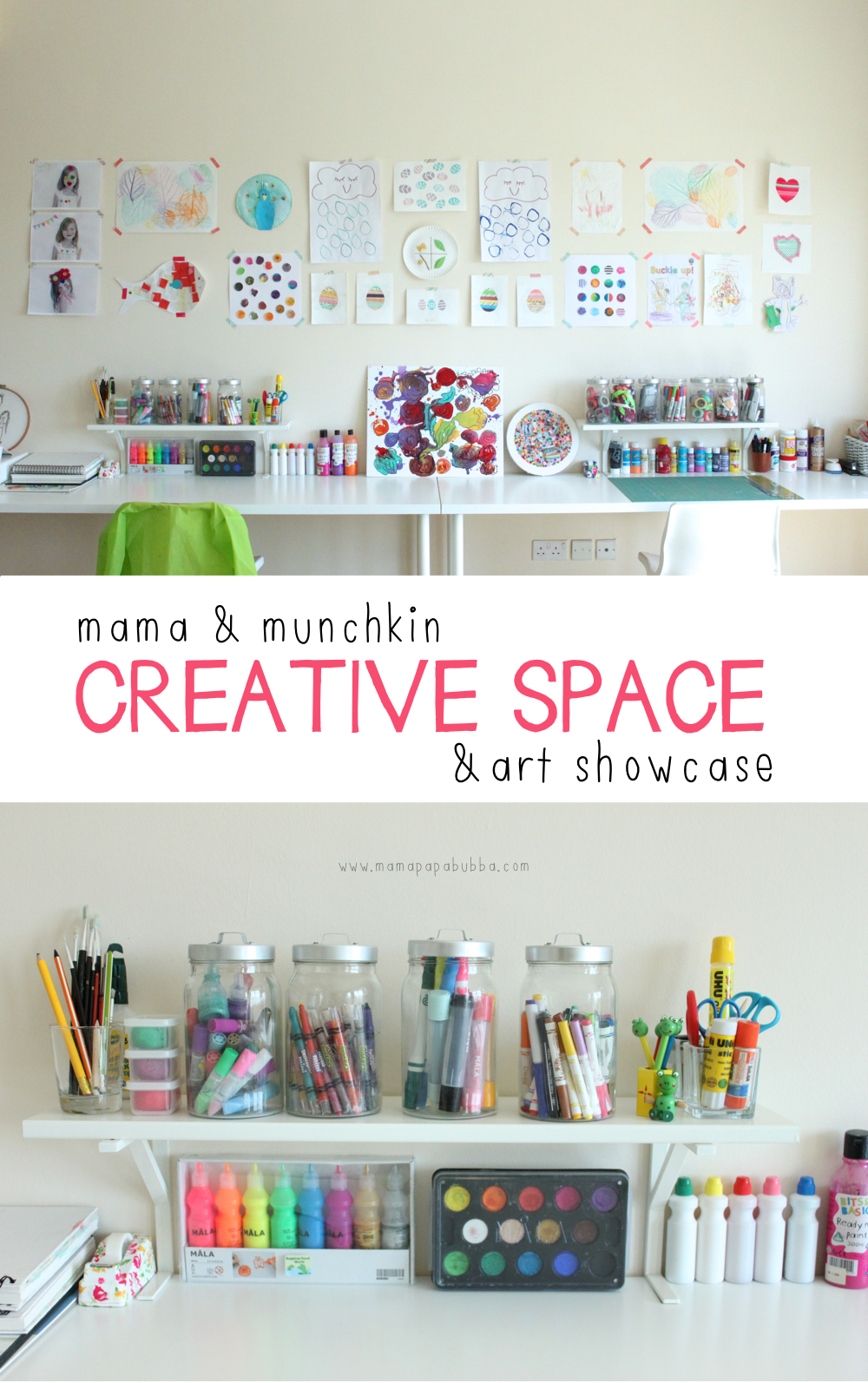 Mama & Munchkin Creative Space & Art Showcase | Mama.Papa.Bubba.