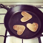 iPhoneography // Heart Pancakes