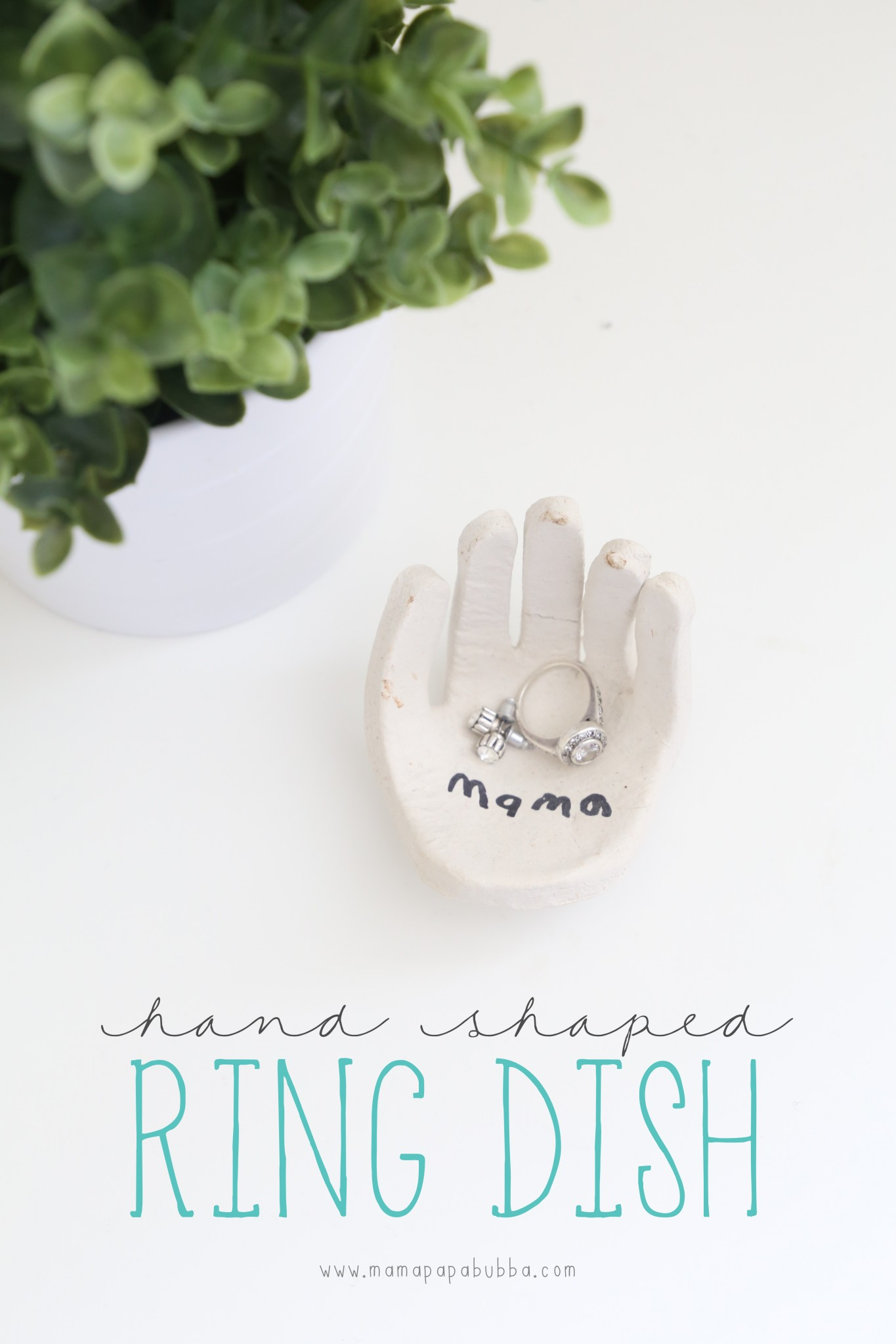 Hand-Shaped Ring Dish | Mama.Papa.Bubba.