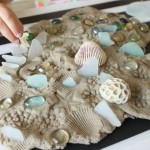 Sand Play Dough With Loose Parts
