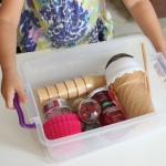 Ice Cream Kit {a fun gift for summer birthdays}