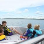 Boating at Sylvan Lake