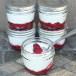 Homemade Fruit On the Bottom Yogurt Cups {made with honey and chia}