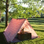 Simple Bed Sheet Tent