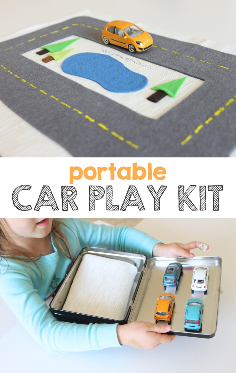 Portable Car Play Kit | Mama Papa Bubba