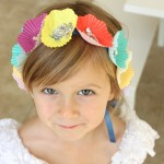 Cupcake Liner Flower Crown