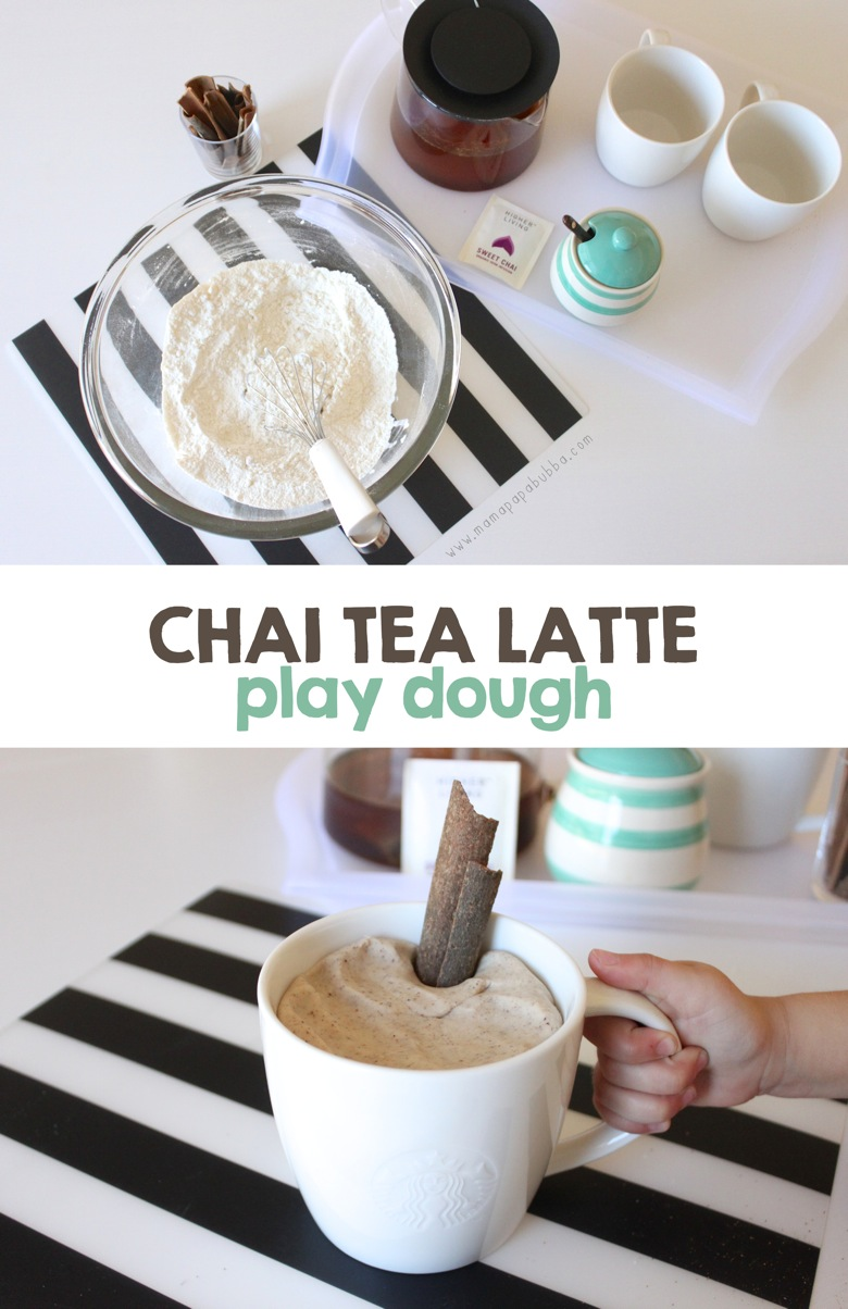 Chai Tea Latte Play Dough | Mama Papa Bubba