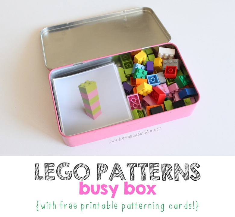 LEGO Patterns Busy Box | Mama Papa Bubba