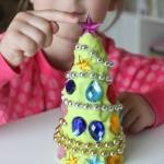 Decorate A Play Dough Christmas Tree Play Kit