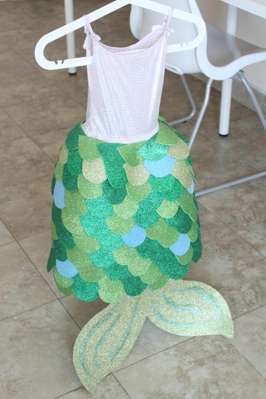 IMG 4947 & Homemade Mermaid Costume - Mama.Papa.Bubba.