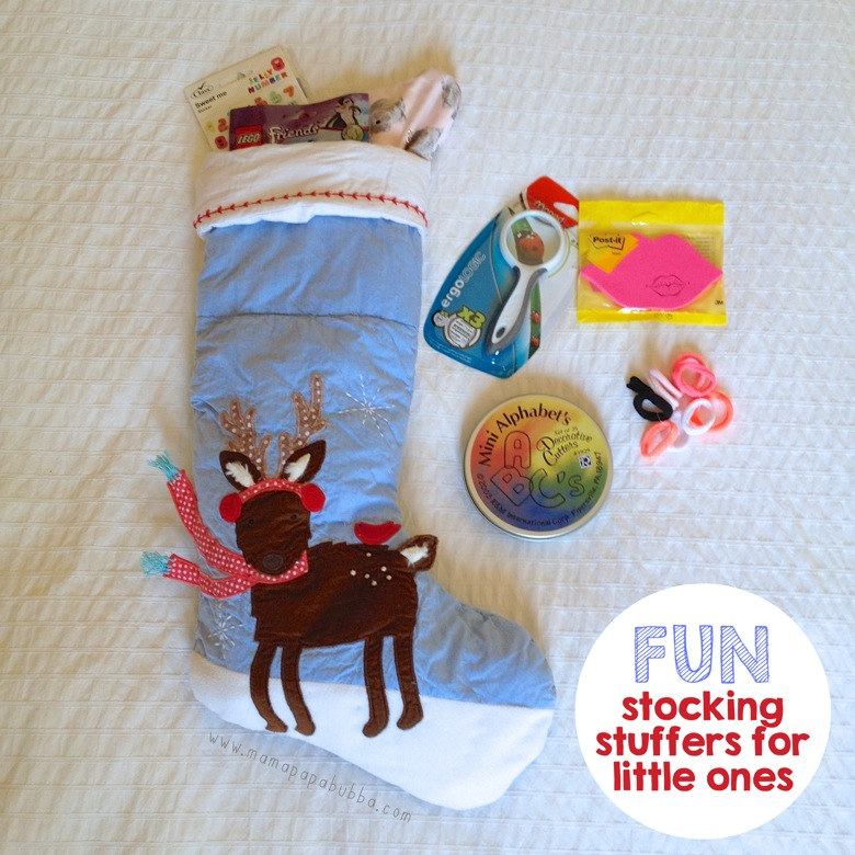 Fun Stocking Stuffers for Little Ones | Mama Papa Bubba