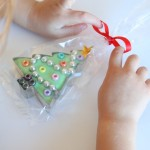 Christmas Tree Play Dough and Cookie Cutter Gifts