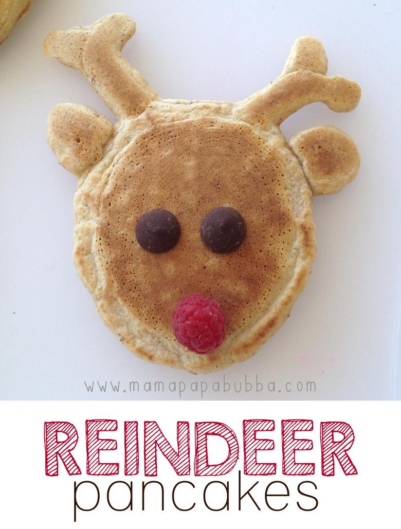 Reindeer Pancakes | Mama Papa Bubba FB