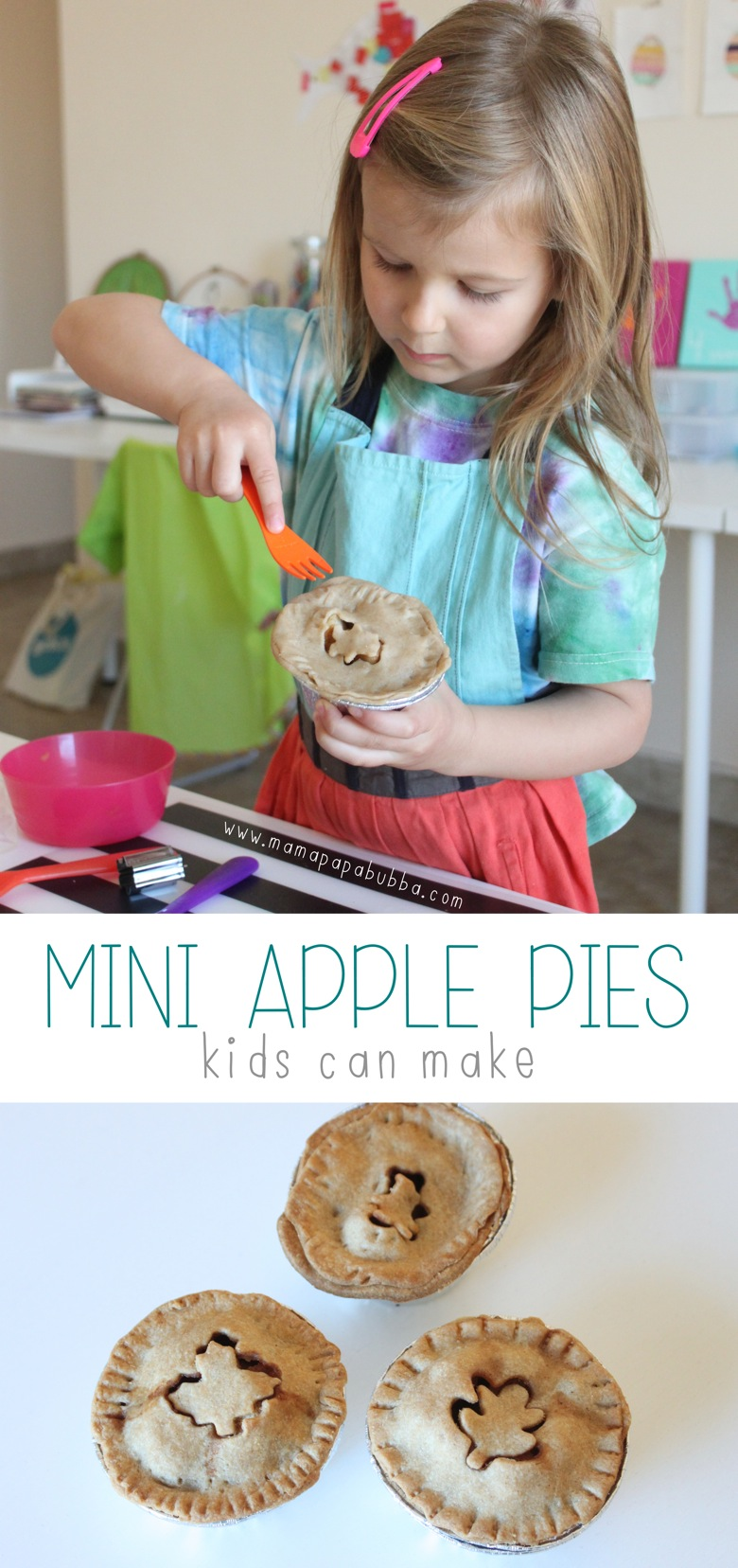 Mini Apple Pies Kids Can Make | Mama Papa Bubba