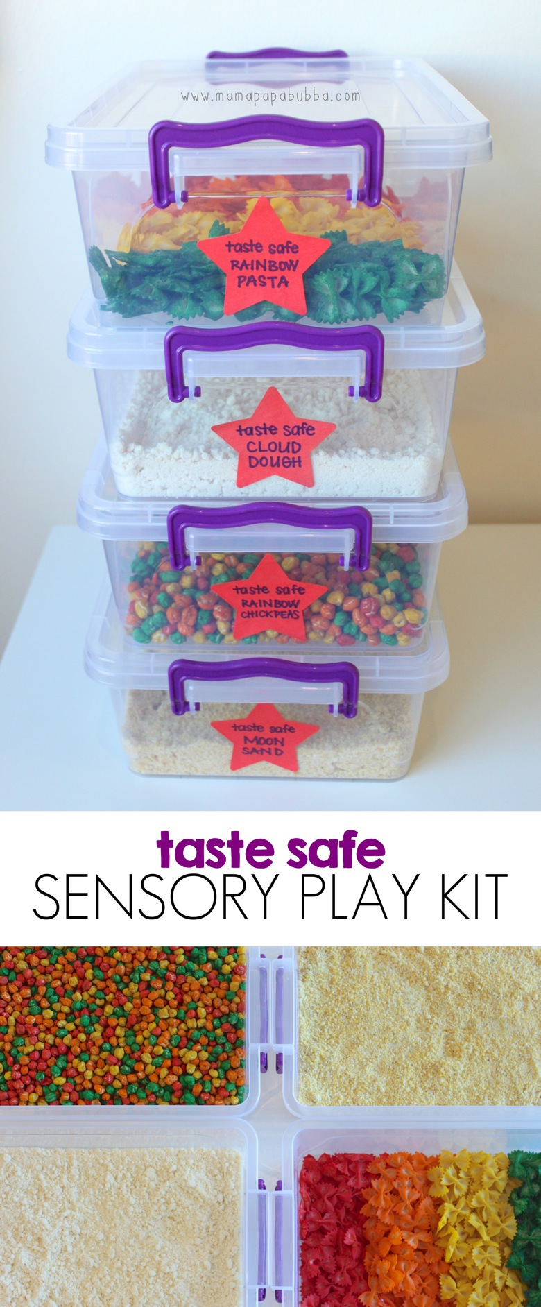 Taste Safe Sensory Play Kit | Mama Papa Bubba