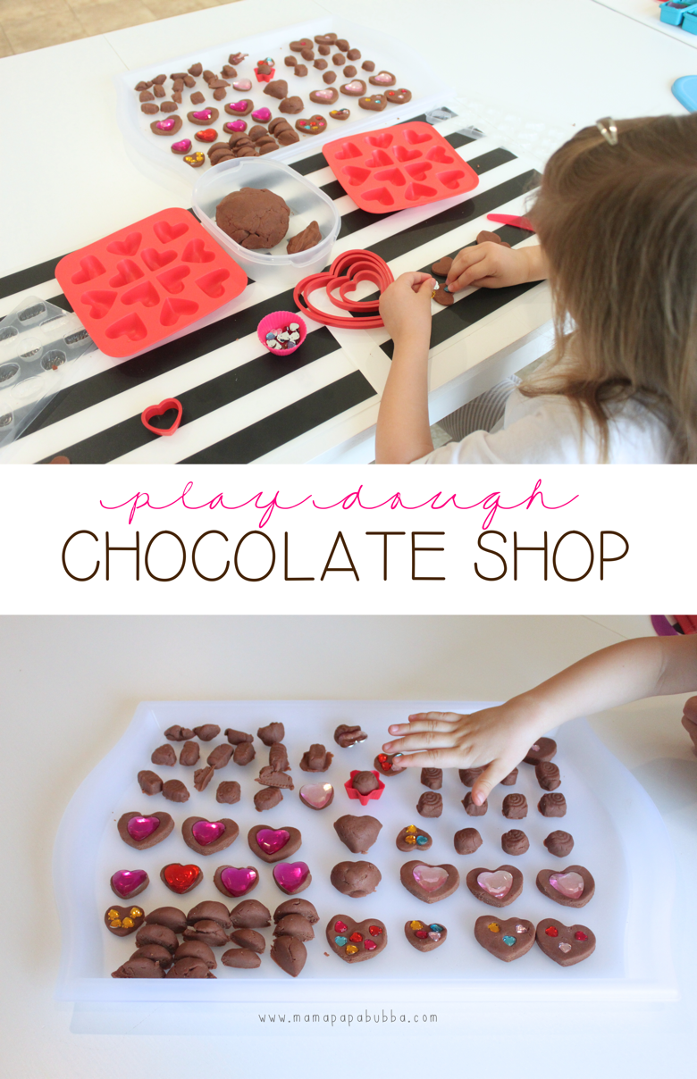 Play Dough Chocolate Shop | Mama Papa Bubba