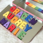 Magnetic Rainbow Name Busy Box