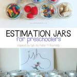 Ishful Math: Estimation Jars for Preschoolers