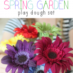 Spring Garden Play Dough Set