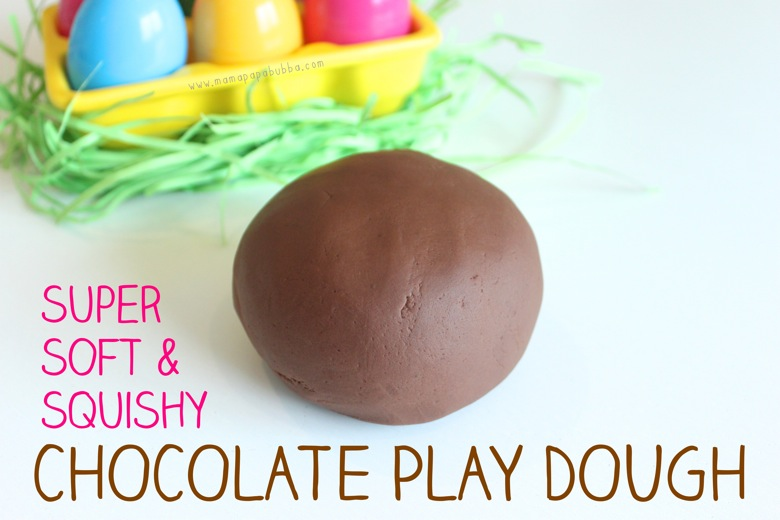 Super Soft  Squishy Chocolat Play Dough | Mama Papa Bubba