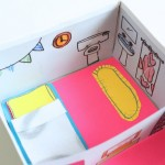 Upcycled Shoebox Dollhouse
