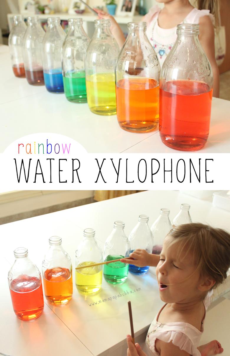 Rainbow Water Xylophone | Mama Papa Bubba
