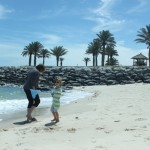 Beach Days at the Hilton Kuwait Resort {our sanity saver}