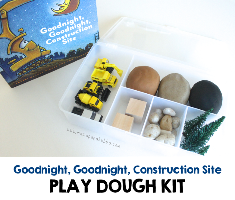 Goodnight Goodnight Construction Site Play Dough Kit | Mama Papa Bubba