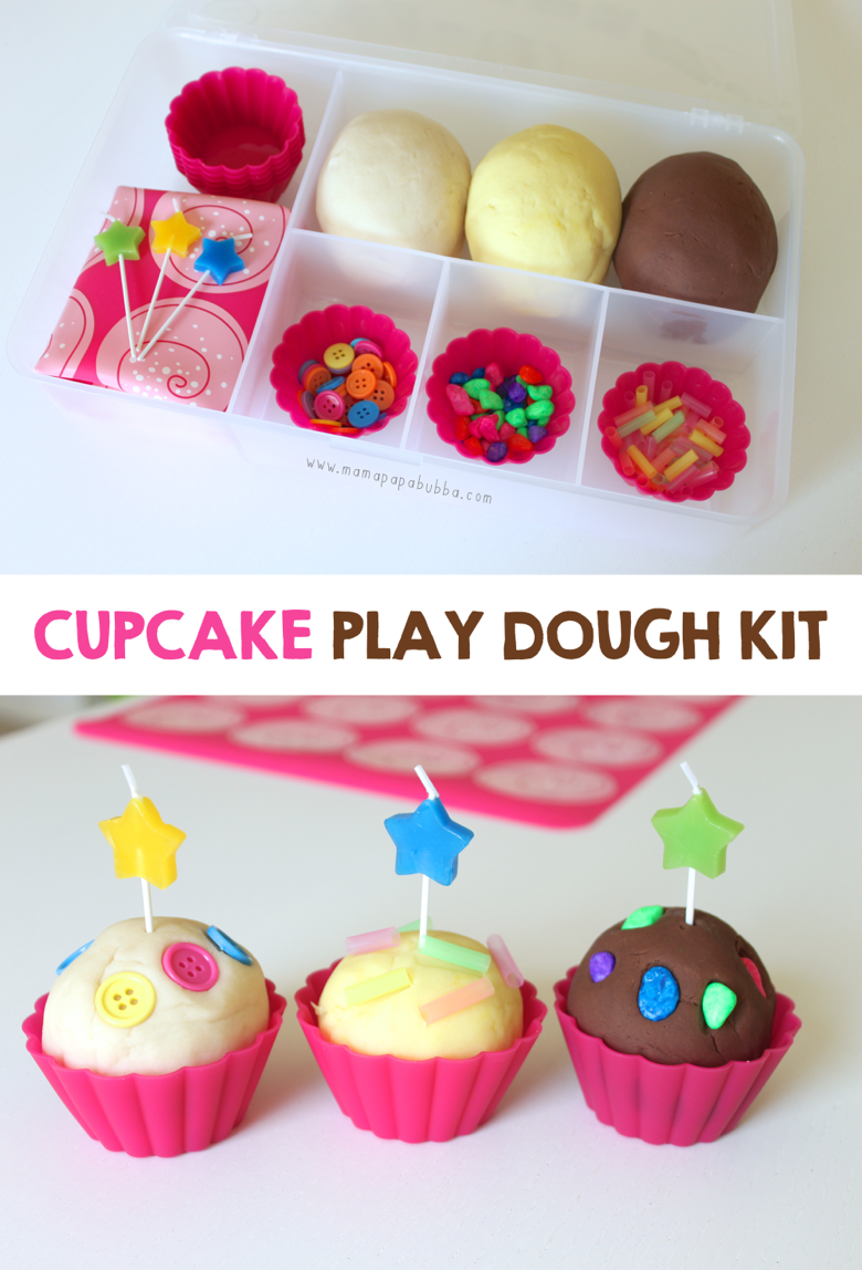 Cupcake Play Dough Kit | Mama Papa Bubba