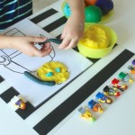 Play Dough LEGO Minifigures {an invitation to create}