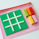 Take Along LEGO Tic-Tac-Toe