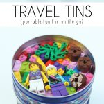 Travel Tins {portable fun for on the go}