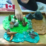 Canadian Wilderness Play Dough Set