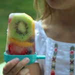 Chunky Fruit Popsicles