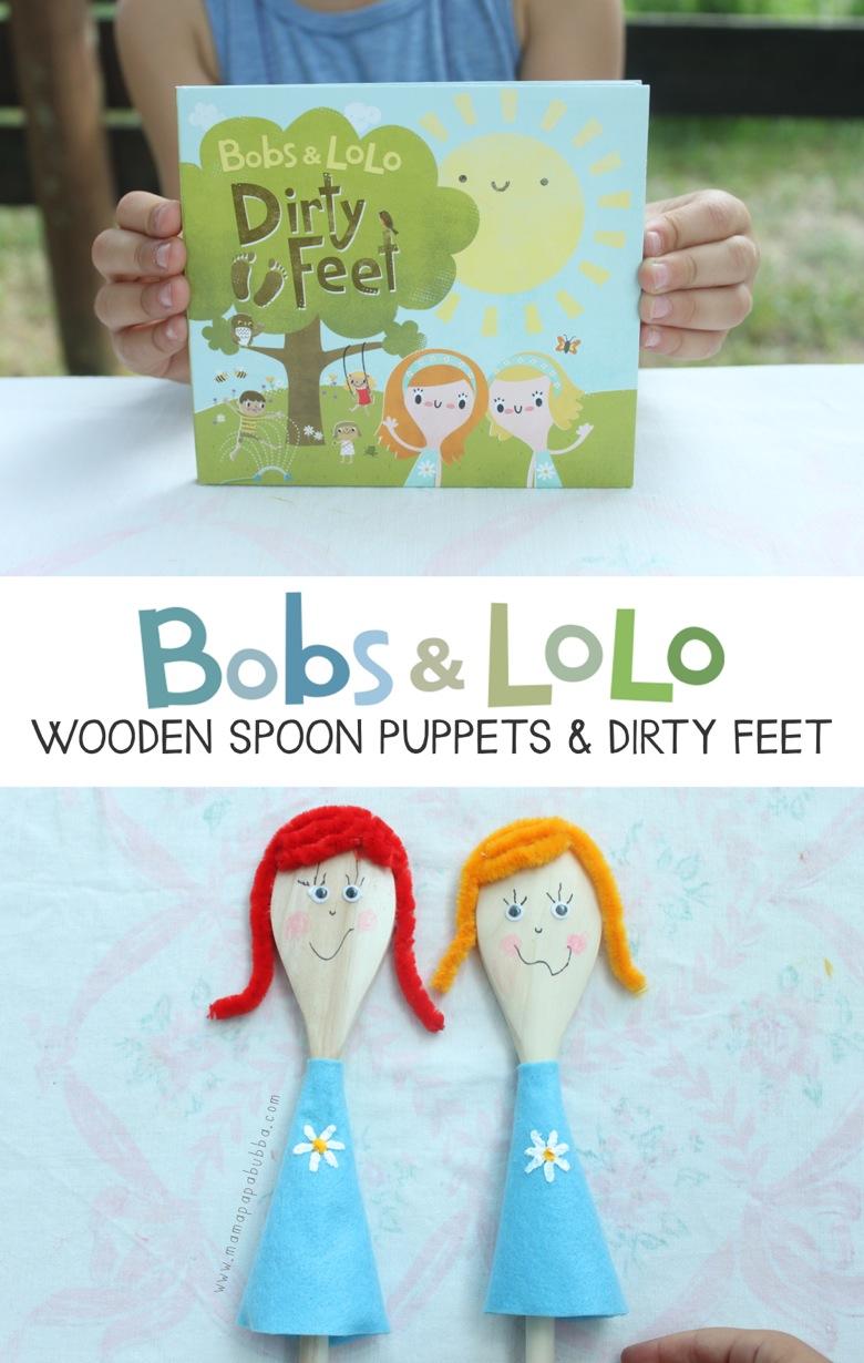 Bobs  Lolo Wooden Spoon Puppets | Mama Papa Bubba