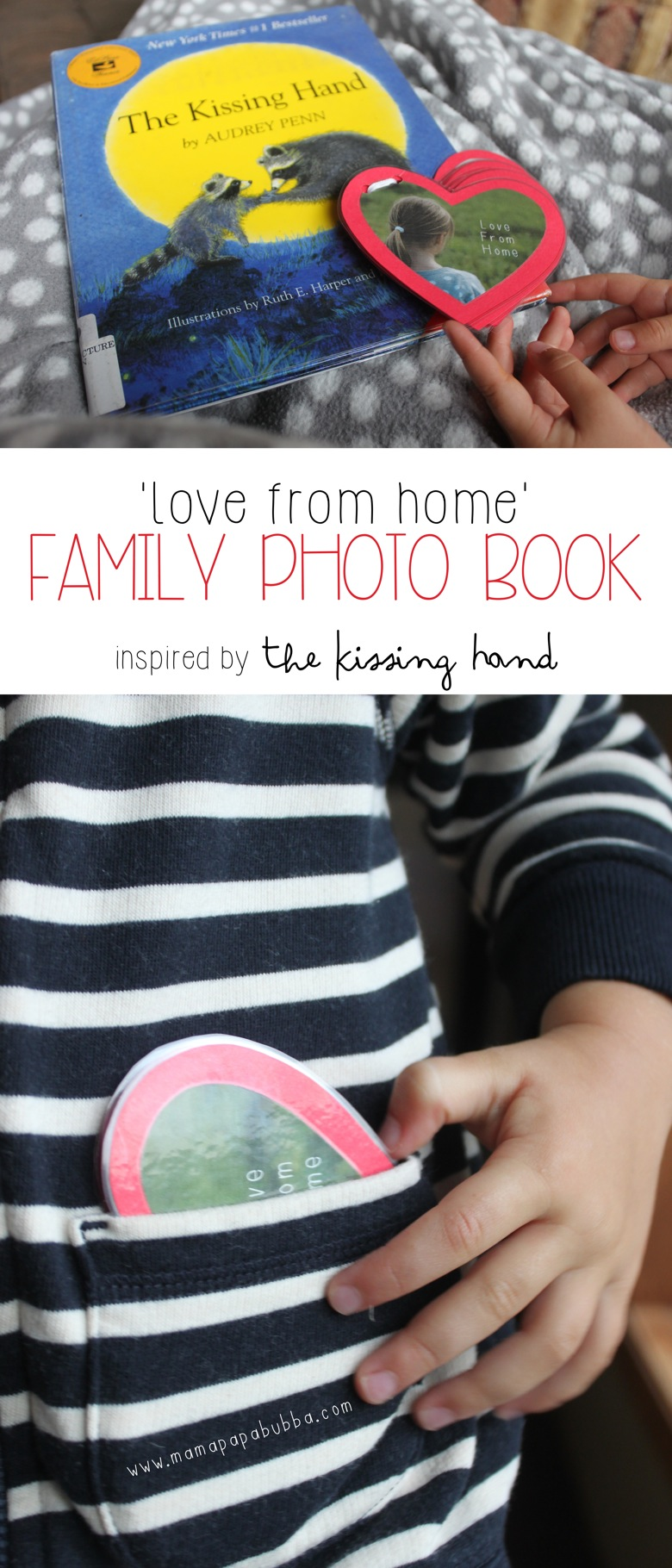Love From Home Family Photo Book | Mama Papa Bubba