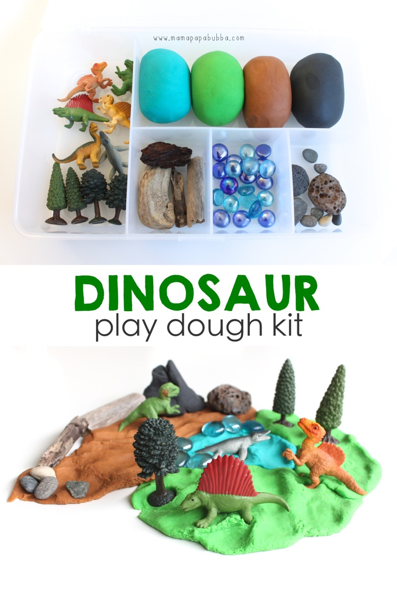 Dinosaur Play Dough Kit | Mama Papa Bubba