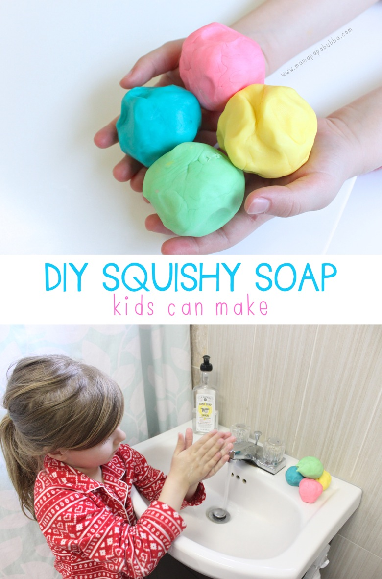 Awesome diy squishy soap mama papa bubba for Easy things to build