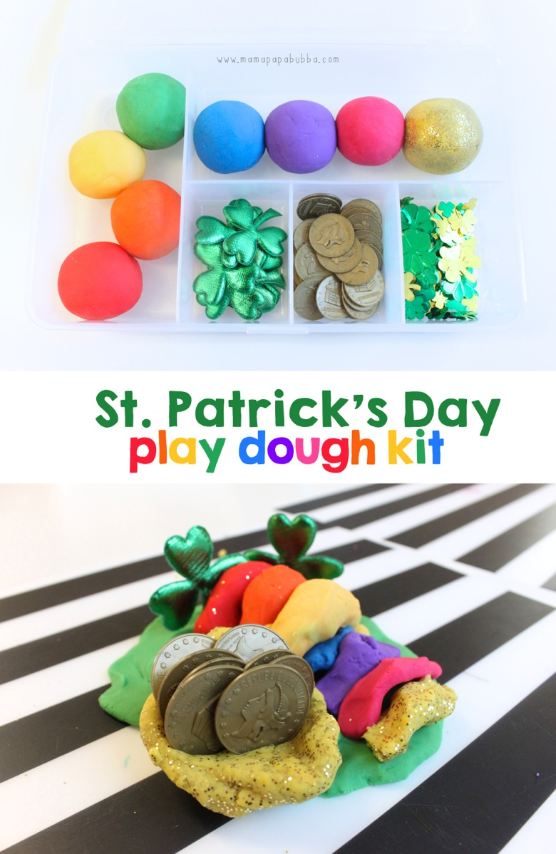 St Patrick s Day Play Dough Kit | Mama Papa Bubba