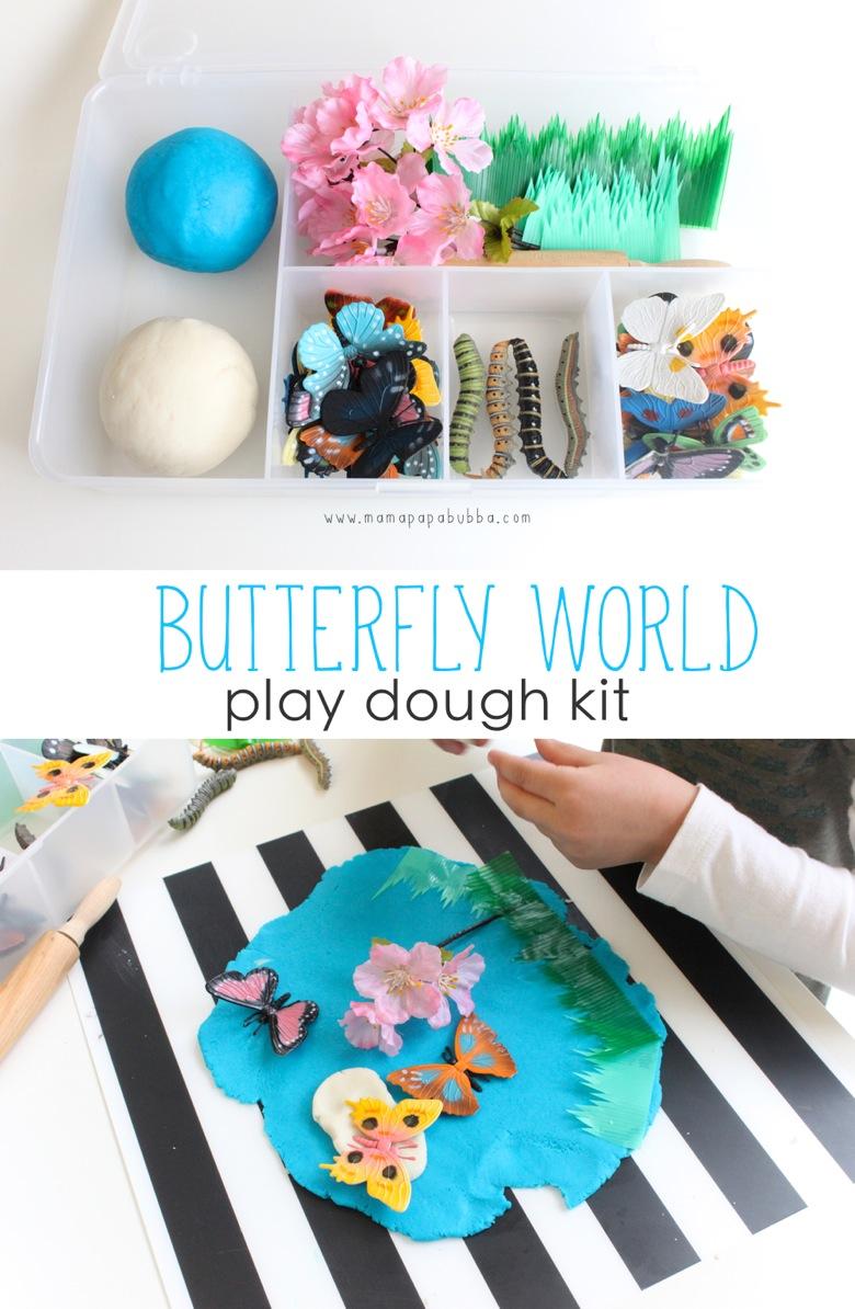 Butterfly World Play Dough Kit | Mama Papa Bubba