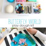 Butterfly World Play Dough Kit