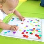 Polka Dot Sensory Bag for Babies