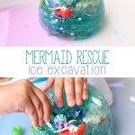 Mermaid Ice Excavation