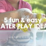 5 Fun And Easy Water Play Activities