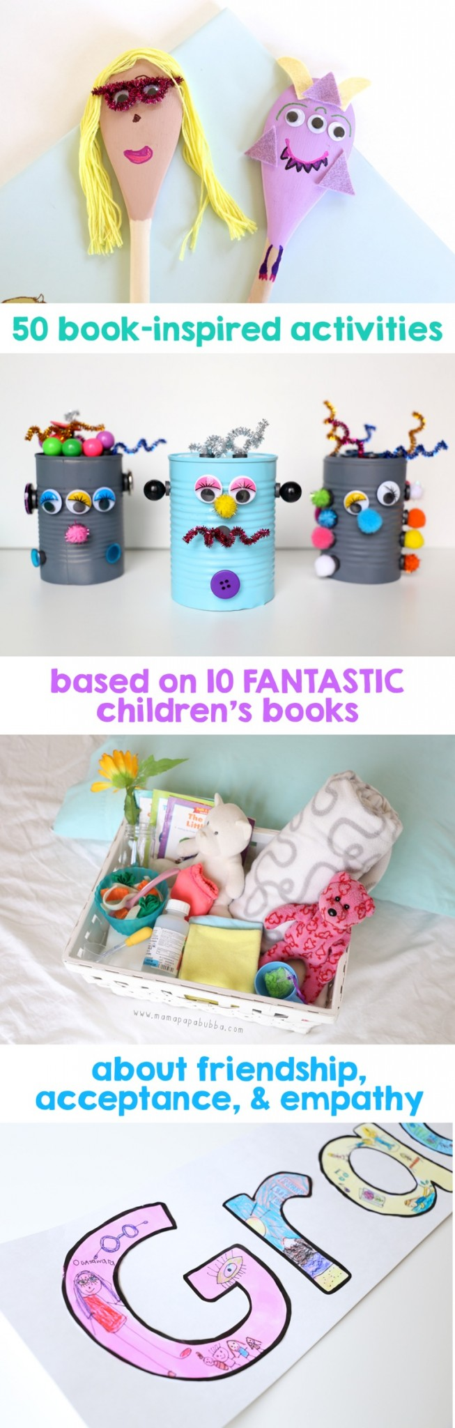 50 Book Inspired Activities | Mama Papa Bubba